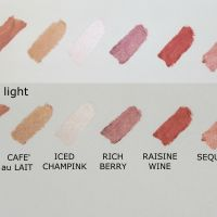 Avon Color Trend lipstick swatches - linea precedente/ old line (grab them as long as you can)
