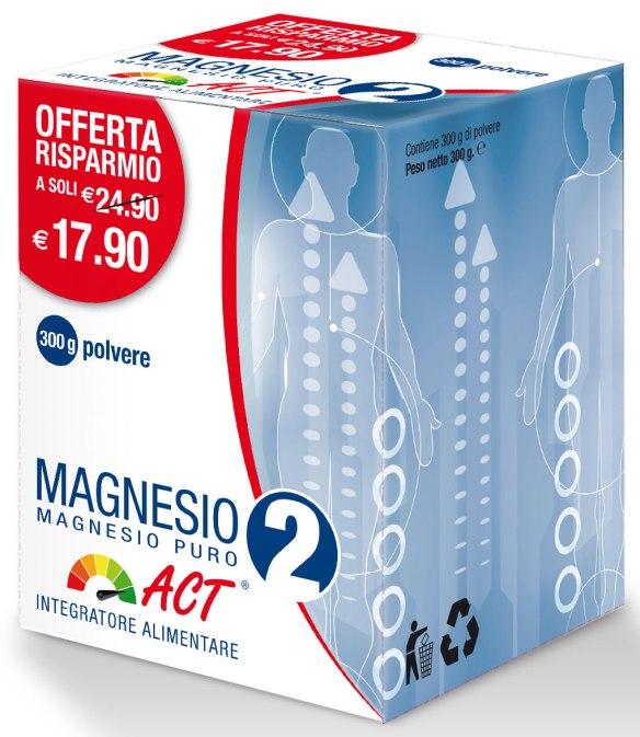 8030936400188 Magnesio 2 ACT - Magnesio Puro