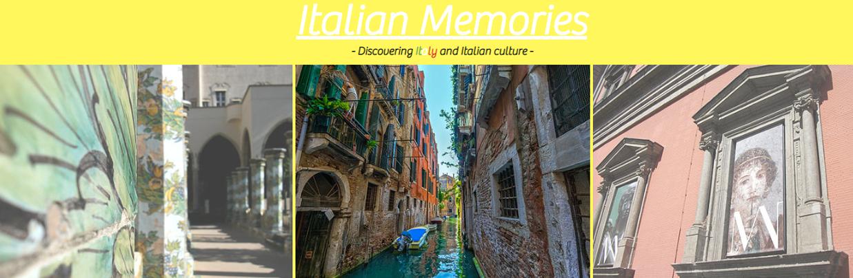 Italian Memories by Valentina Chirico