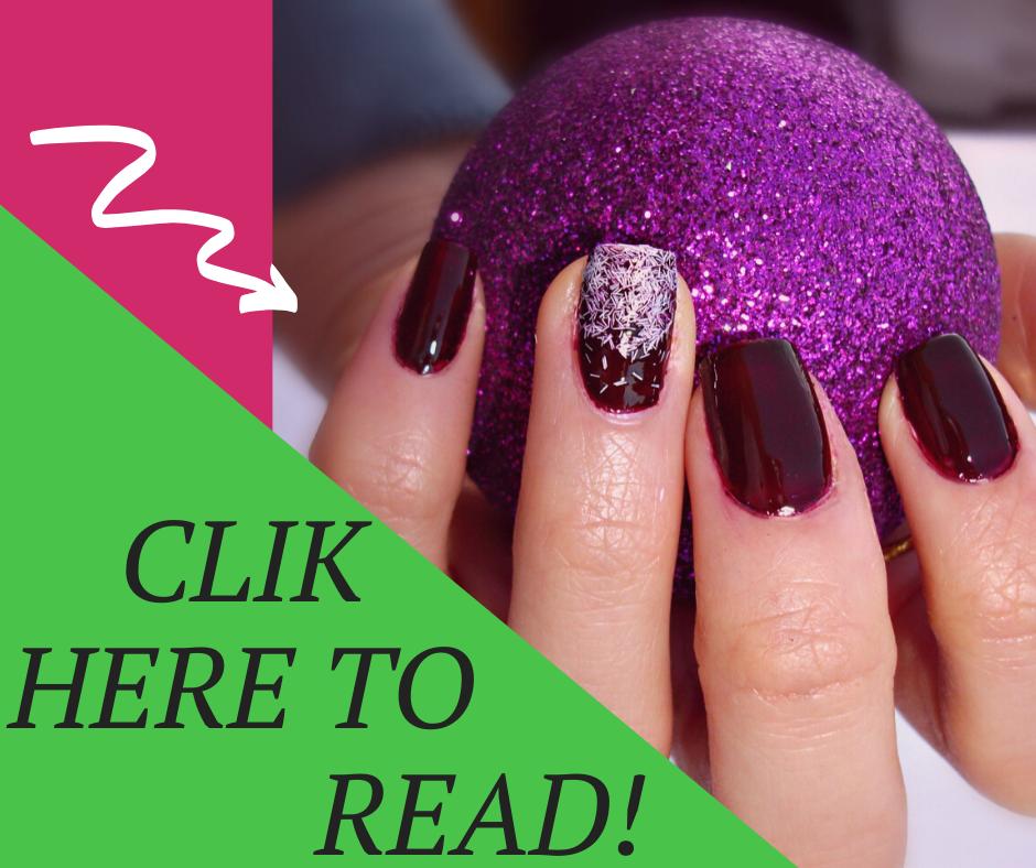 Tutorial manicure glitterata di Valentina Chirico